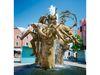 Drei berühmt-berüchtigte Figuren zieren den Marktplatzbrunnen in der Kreisstadt Cham