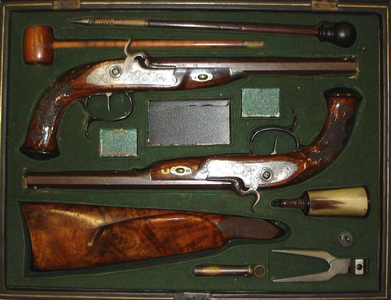 Feuerwaffen im Museum der Büchsenmacherfamilie Kuchenreuter in Cham