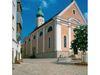 Blick auf die Stadtpfarrkirche SANKT JAKOB in Cham