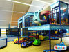 Phantasievolle Spielmöglichkeiten bietet die Indoor Spielwelt in Cham