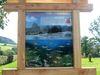 Die erste Info-Tafel am Fischlehrpfad im Gemeindepark Chamerau