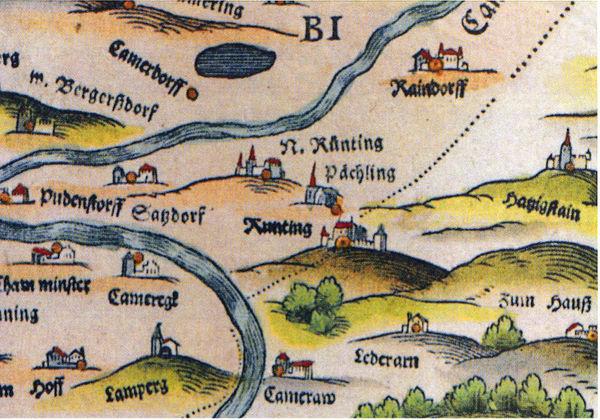 Alte Ortsbezeichnungen in der Gegend um den Haidstein
