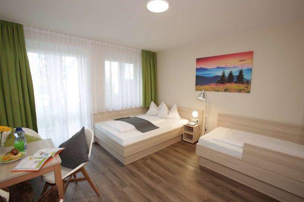 Zimmer in der Klinik Alpenhof