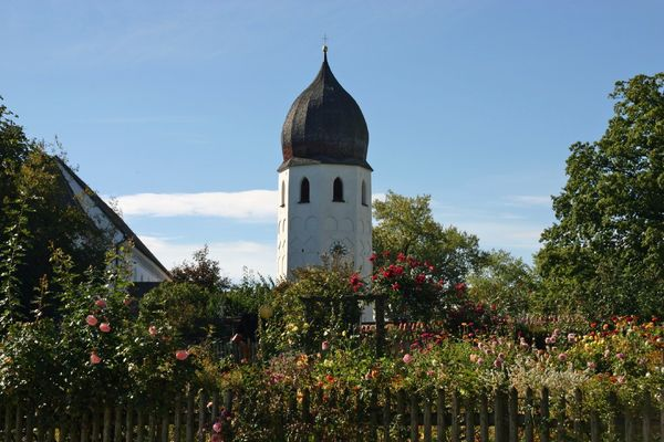 Campanile mit Klostergarten