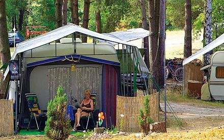 Campingplatz Chossewitz am See, Foto: Verband der Campingwirtschaft im Land Brandenburg e.V.