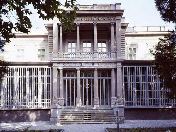 Eingang vom Kunstmuseum