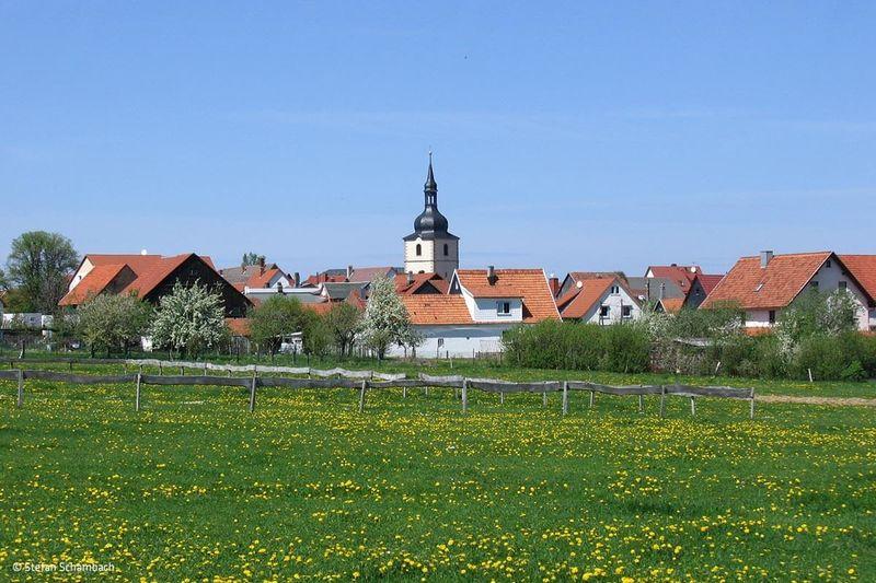 Sommeransicht von Crawinkel im Thüringer Wald