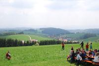 Fernsicht auf dem Kaiser-Rudolf-Platz bei Dachsberg-Hierbach