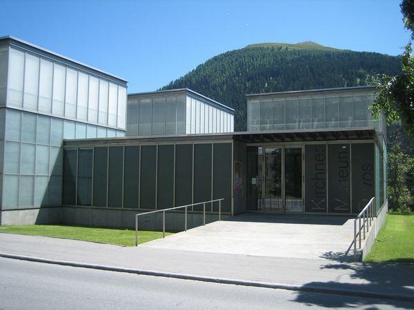 Eingang vom Kirchner Museum
