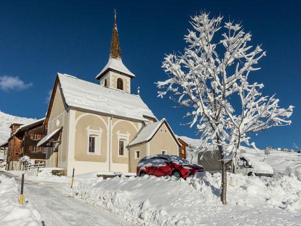 Kapelle Sogn Antoni, Winter