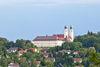 Blick auf Schweiklberg in Vilshofen