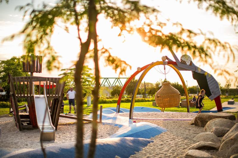 Das Spielplatz-Areal: Donauspiel