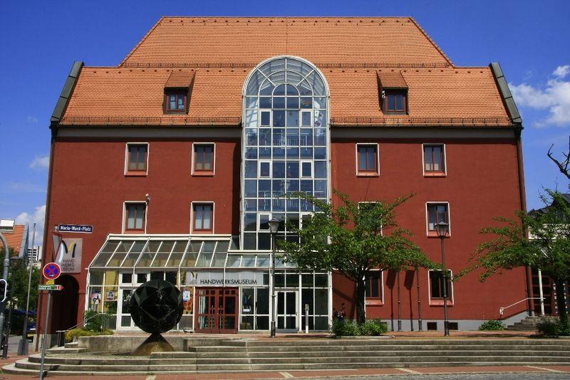 Blick auf das Handwerksmuseum Deggendorf im Bayerischen Wald