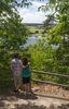 Schöne Ausblicke auf das Donautal im Stadtwald Geiersberg