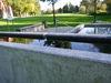 Die Kneippanlage liegt im Herzen des Stadtparkes Deggendorf