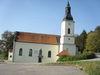 Blick auf die Wallfahrtskirche Halbmeile bei Deggendorf - Tor zum Bayerischen Wald