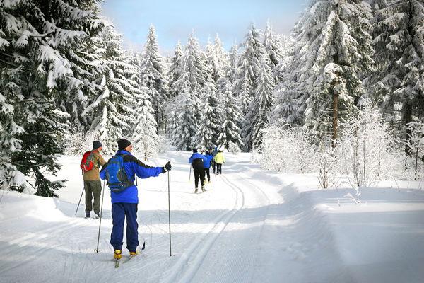 Langlaufparadies bei Deggendorf
