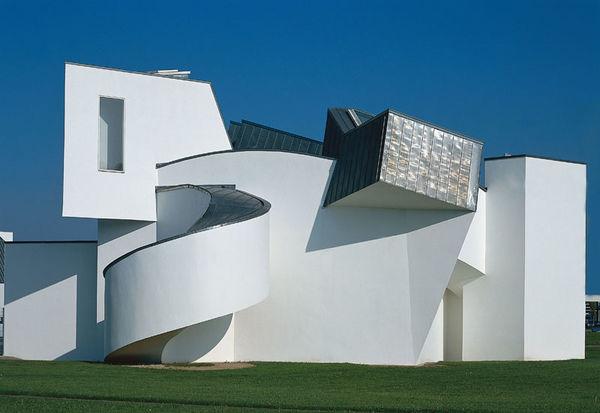 Vitra design museum - Dekonstruktivismus architektur ...