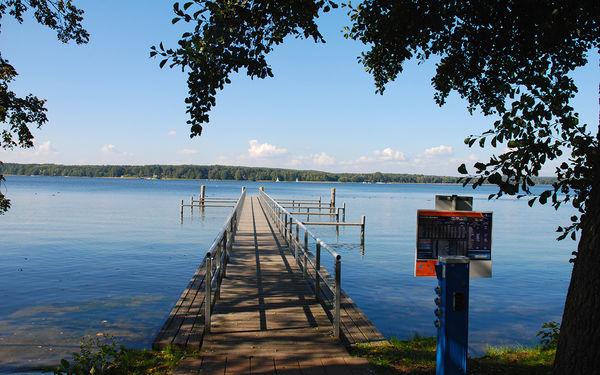 Wasserwanderrastplatz Diensdorf - Vorsicht: zum Ufer hin sehr flach © Christin Drühl