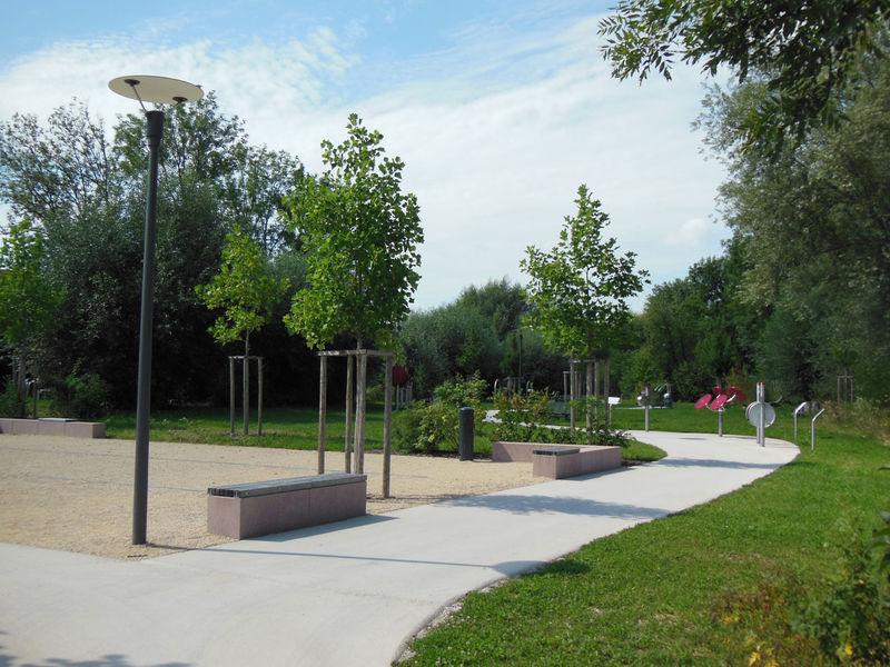 Der Bewegungspark am Pappelweg in Dingolfing