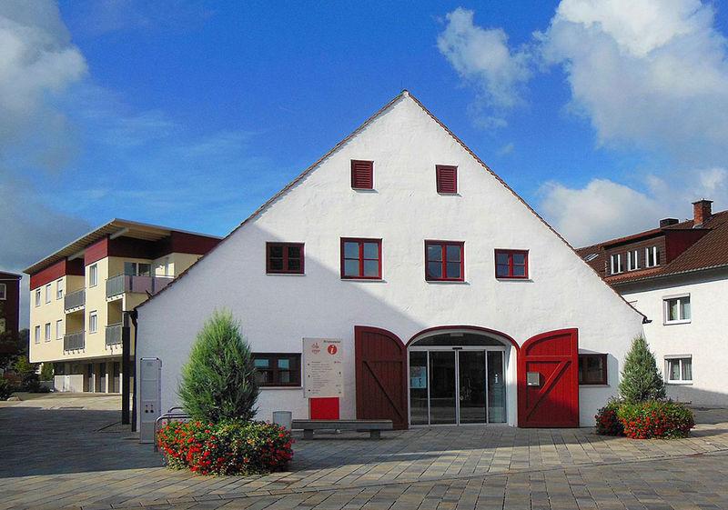 Das Informationszentrum im Bruckstadel in Dingolfing