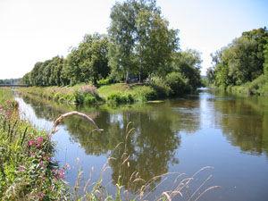 Der Donauzusammenfluss