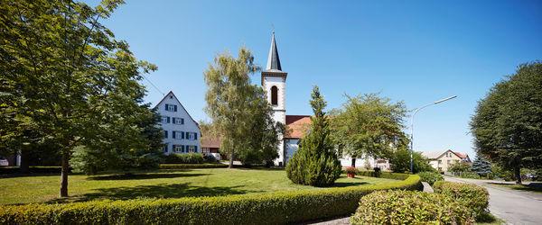 Dormettingen_ortsansicht mit Kirche