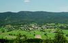 Blick auf Arnbruck im Zellertal in der Urlaubsregion Bayerischer Wald