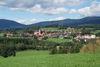 Blick auf Drachselsried im Zellertal in der Urlaubsregion Bayerischer Wald