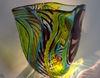 Farbenprächtiges Glaskunstwerke in der Glasgalerie Herrmann in Drachselsried