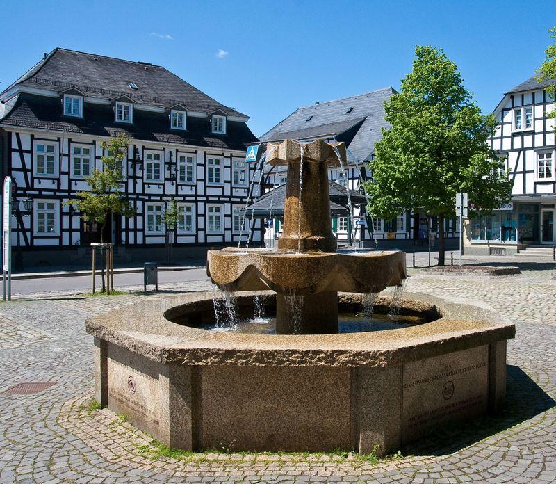 Marktplatz Drolshagen