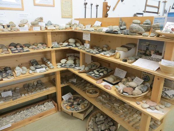 Gesteinssammlung in der Bäuerlichen Gerätesammlung in Eching