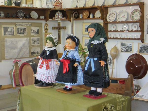 Heimatecke Puppen in der Bäuerlichen Gerätesammlung in Eching