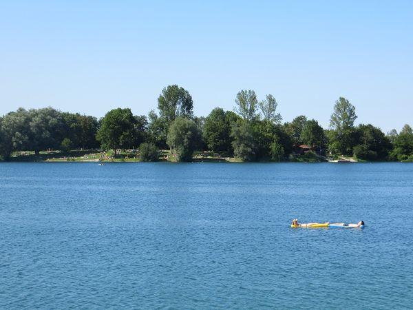 Blick auf den Echinger See