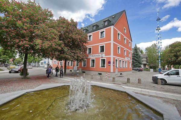 Ortszentrum von Eching