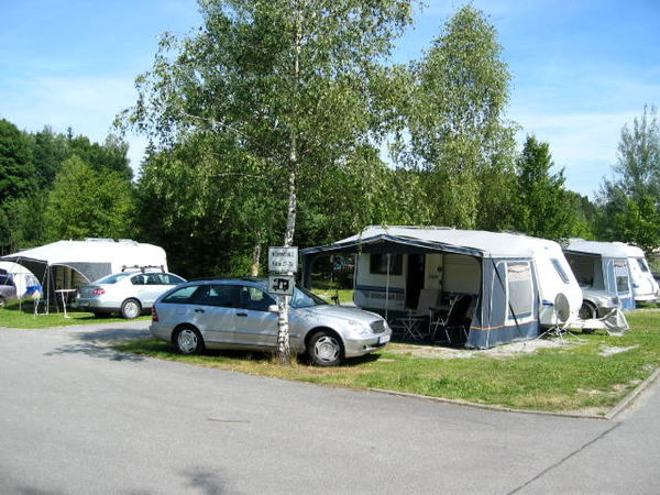 Camping beim Bavaria Kur-Sport Camping Park in Eging am See