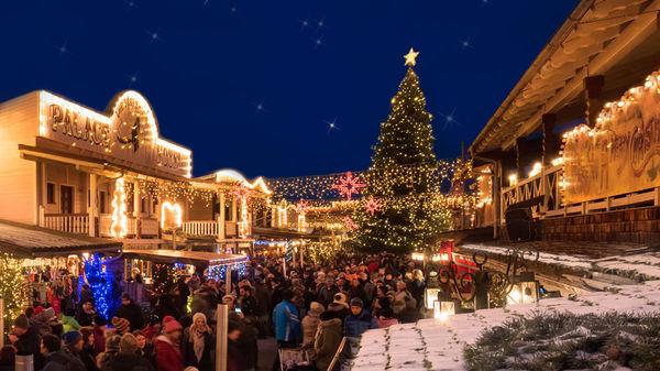 Der Deutsch-Amerikanische Weihnachtsmarkt in Pullman City