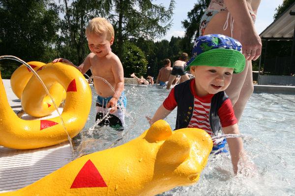 Kinderspaß am Eginger See