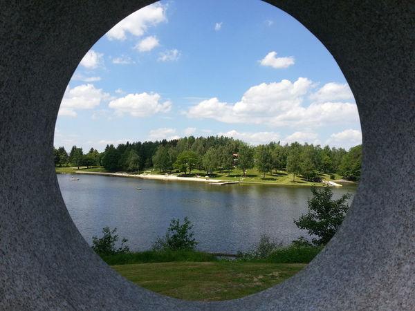 Blick auf den Eginger See