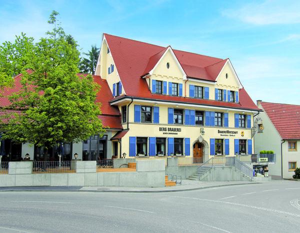 BrauereiWirtschaft in Berg