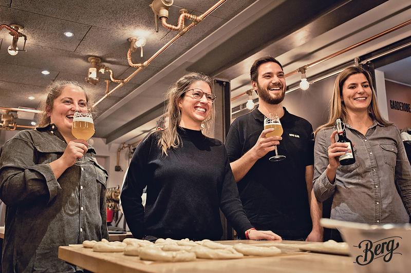 Ehingen Berg Brauerei Brau-&Backstube