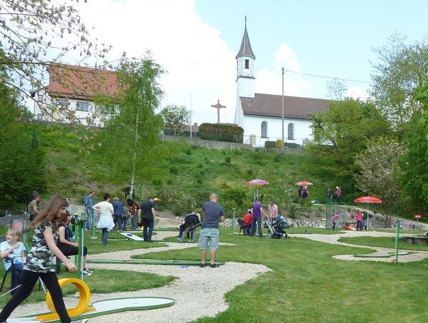Minigolfanlage in Ehingen-Gammerschwang