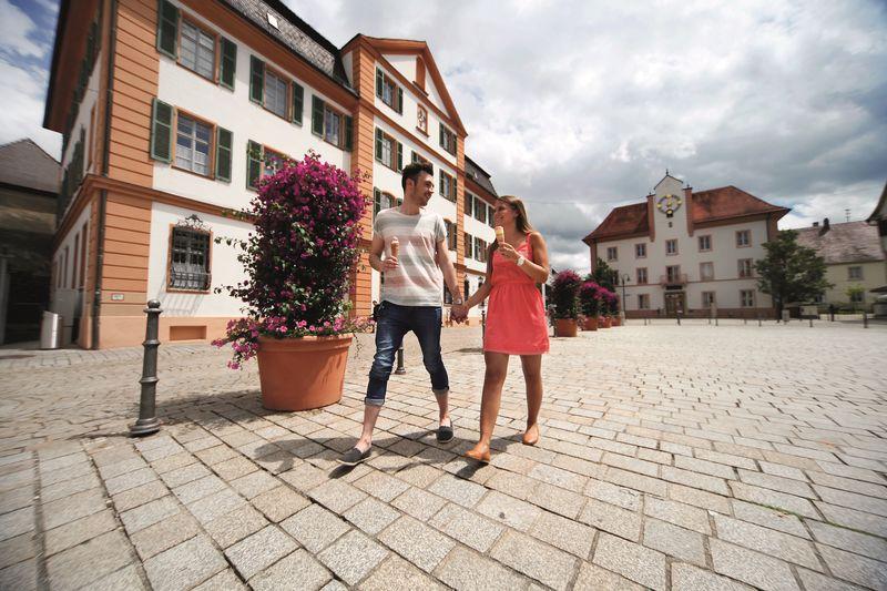 Der Marktplatz in Ehingen