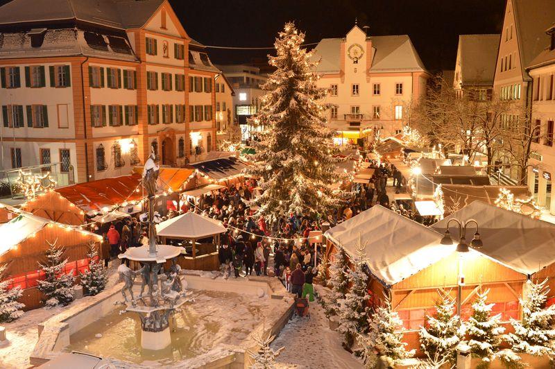 Der Ehinger Weihnachtsmarkt ist einer der schönsten der Region