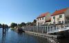 Anlegestelle Bollwerk - im Oder-Spree-Kanal kurz vor der Odermündung, Foto: Christin Drühl