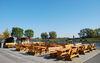 Anlegestelle Bollwerk - Hafenrestaurant mit Blick in die weite Oderlandschaft, Foto: Christin Drühl