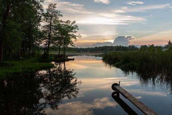 Sonnenuntergang, Foto: Florian Läufer