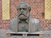 Porträtbüste Karl Marx, Probeguss, L. Engelhardt