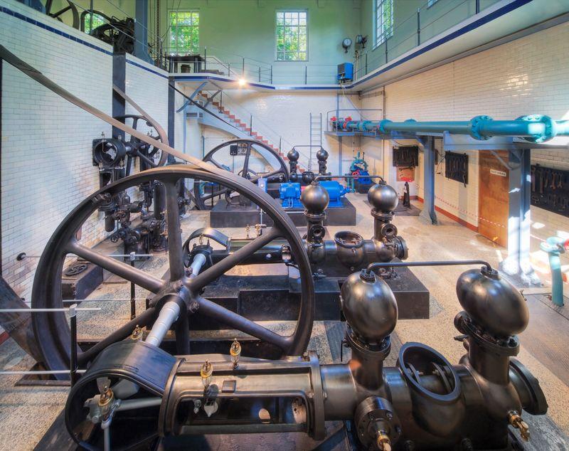 Historisches Wasserwerk in Eislingen