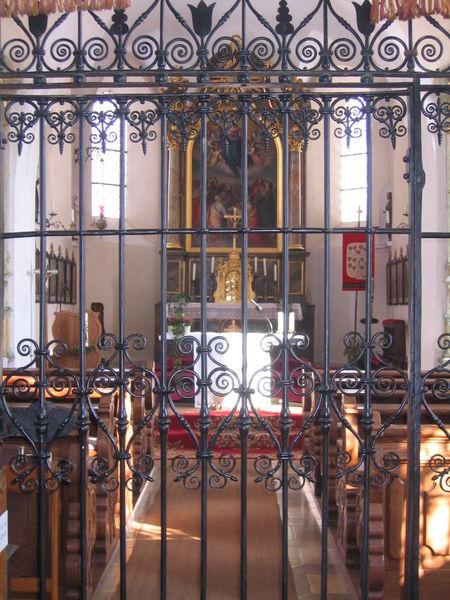 St. Maria Kapelle Rindelbach - Innen